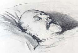 Эдуард VII на смертном одре